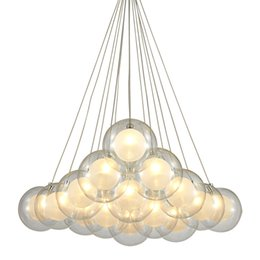 Canada Moderne LED Pendentif En Verre Suspension Suspension Plafonnier Luminaire Lustre Nouveau Pour Chambre Bar Salon Éclairage Intérieur Offre