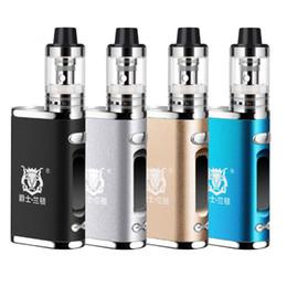 E caneta de fumaça shisha on-line-NOVA JSLD 80 W Box Mod Vapor Enorme 2200 mah build-in bateria E Cig Fumaça Vaporizador Hookah Shisha Caneta LED Cigarro Eletrônico vape