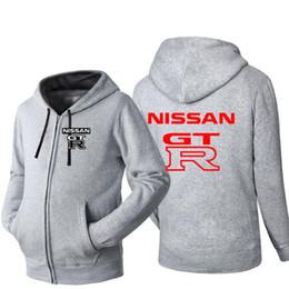 Discount streetwear brands for women - NISSAN GTR Brand Car Logo Print Hip  Hop Overcoat Sweatshirt a632fec05e