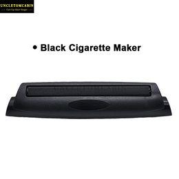 Cono de humo online-110MM plástico de batir del cigarrillo del rodillo del tabaco del cigarrillo Tamaño Papeles Rey Rolling Paper Cone pipa amoladora de la hierba seca