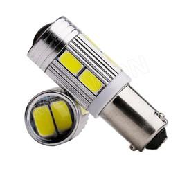 Canada BA9S T4W 10SMD 5630 5730 LED Voiture LED Ampoules Intérieur Dégagement Automatique Lumière Lecture Carte Plaque d'Immatriculation Lumière DC 12V Offre