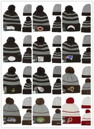 4be31e09b 2019 New Arrival Beanies Hats American Football 32 teams Beanies Sports  winter knit caps Beanie Skullies Knitted Hats free drop shippping