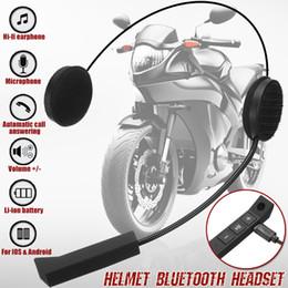 2018 Motorrad Helm Drahtlose Bluetooth Lautsprecher Mit Mikrofon Antwort Anrufe Wasserdichte Fahrrad Intercom Lautsprecher Kopfhörer Motorrad-zubehör & Teile