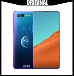 2019 câmera zte ZTE Núbia X Celular 8GB / 128 / 256GB Snapdragon 845 Octa Núcleo 6.26 + 5.1 '' Dual Screen 16 + 24MP Câmera 3800mAh Fingerprint Phone câmera zte barato