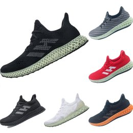 Qualidade da tecnologia on-line-Adidas Futurecraft 4D 2019 new sneakers technology cushioning running shoes perfect foot sense designer shoes high quality (38-47)