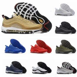 2019 хорошая новая обувь Nike air max 97 Женщины мужские тренеры кроссовки Кроссовки имеют хороший день новый 2019 сетка бегун удобная обувь скидка хорошая новая обувь