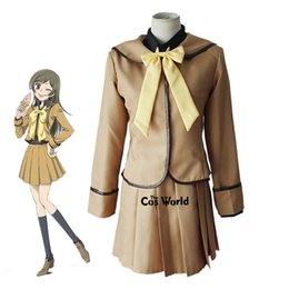 sailor uniform cosplay Coupons - anime cosplay Kamisama Kiss Kamisama Hajimemashita Momozono Nanami School Uniform Sailor Suit Tops Dress Outfit Anime Cosplay Costumes