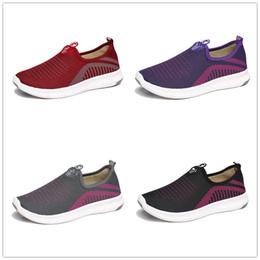 Femmes UA Sneakers Mesh Casual Chaussures Slip On Flats Dames Peu Respirable Sport Running Chaussures De Marche De Mode Confort Chaussures B71903 ? partir de fabricateur
