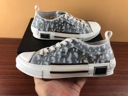 nuevo patrón de zapatos para hombre. Rebajas Nueva moda Burst vende zapatillas de skate de diseñador para hombres, mujeres, gris, blanco, patrón, con cordones, tela de alta calidad, retazos de PU, zapatos Casaul, talla 35-46