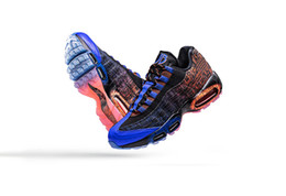 13ae02c77392 Air Cushion 95 Doernbecher Freestyle 2015 Running Shoes 839165-064 Mens  15th Anniversary 95s DB 3M JB zapatos deportivos Size Eur36-45