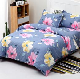 4 peças de microfibra escovado impresso folhas de cama queen size, incluído 1 x capa de edredão, 1 x folha de cama plana, 1 x fronha, fácil cuidado de Fornecedores de meninas de lã de veludo
