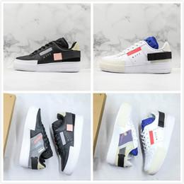 Sneakers frauen n online-New Low N.354 1 x TYP Skateboard Schuhe Männer Frauen Weiß Schwarz Bequeme Outdoor Skate Sneakers Spezielle Designer Schuhe