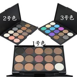 Makeup Lidschatten-Palette 15 Farben Matt und Schimmer Lidschatten Nude Earth Color Puder-Palette Lidschatten ePacket Ship Way von Fabrikanten