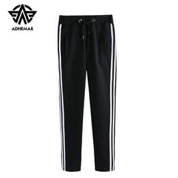 Ropa coreana xxl online-Adhemar athleisure pantalones deportivos para hombres / mujeres amantes de la ropa pantalones de ejercicio de estilo coreano casual