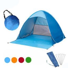 11 Cor Automática Barraca Portátil Livre Para Construir Camping Praia Sombrinha Protetor Solar Barraca de Velocidade Ao Ar Livre Tenda de Acampamento Ao Ar Livre Para 2-3 Pessoa DS0536CY de