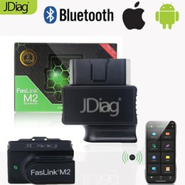 android bluetooth app Coupons - JDiag Auto Diagnostic Tool FasLink M2 Car OBD2 Scanner with Bluetooth Code Reader with ISO Android APP Free Replace Easydiag 3.0