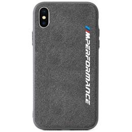 Frete grátis luxo virar logotipo do carro de pele bmw desempenho phone case para iphone x xr xs max 7 6 s 8 plus samsung s8 s9 s10 além de huawei mate 20 de
