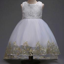 Canada Robe de demoiselle d'honneur mariage fille fleur rouge sans manches robe de queue de princesse jupe robe garçon hôte grande fille Offre
