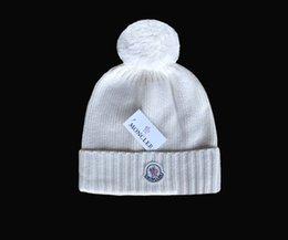 Padrão beanies on-line-Novas Mulheres Chapéus De Lã Outono Inverno Hat Pattern Cinco Cores de tricô Feminino Skullies Gorros