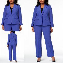 8f0d5b93c48c ladies blue wear Скидка Nave Blue Платья для матери невесты Костюмы с длинным  рукавом Офисная женская