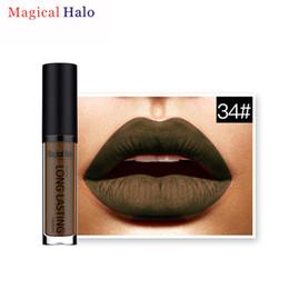 lápiz labial halo mágico Rebajas Nueva marca de fábrica mágico halo 1pc maquillaje mate impermeable del lápiz labial calidad bastante buena y dura más tiempo brillo de labios del lápiz labial