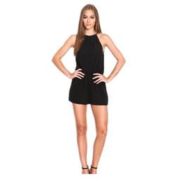 vestido preto revelador Desconto Pop2019 revelar preto terno-vestido de volta explosão de vento Lin Tai Pants