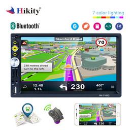 """Roda de ligação on-line-Hikity 2 din GPS Rádio Do Carro 7 """"HD 1080 P IOS / Android link espelho Controle de Volante RDS Carro Suporte Estéreo Câmera de Visão Traseira"""