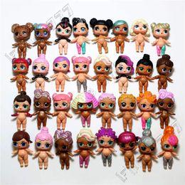 Mini juguetes para niñas online-Más caliente Original LOL Doll DIY Toys Modelos aleatorios muñeca Bulk lol doll LOL Toys Cute dress up muñecas para niñas