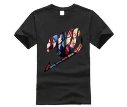 2019 рубашка аниме аниме Fairy Tail Group-логотип аниме футболка топ футболка мужская с коротким рукавом дешево рубашка аниме аниме