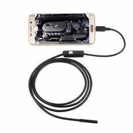Argentina 7mm 7mm Lente de enfoque Cable USB 1 / 1.5 / 2 / 3.5 / 5M Impermeable 6 LED para Android Endoscopio Mini USB Inspección de endoscopios cámara Suministro