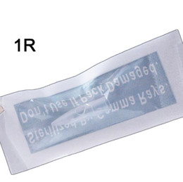 biotouch permanente make-up-maschinen Rabatt 50Pcs 1/2/3/5 / 7R 3/4 / 6F Tattoo Caps Permanent Make-up Nadelspitzen für BioTouch Drangon / Mosaic / Merlin 3D Augenbraue Eyeliner Lip Machine