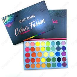 Make-up Lidschatten Color Fusion 40 Farben Palette über dem Regenbogen Hohe Pigment Lidschatten Einfach zu mischen von Fabrikanten