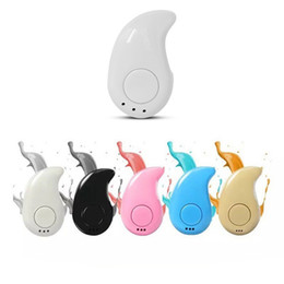 bluetooth di alta qualità di alta qualità Sconti S530 Wireless Bluetooth 4.1 La nuova e alta qualità elimina il rumore e l'eco Auricolari dal design piccolo e leggero