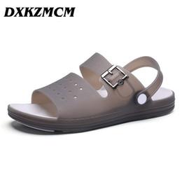 32ecd1ec7 baratos zapatos masculinos casuales Rebajas DXKZMCM 2019 Sandalias de  hombre Sandalias de verano Zapatillas de deporte