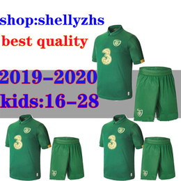 2020 camicie da calcio a squadre 19 20 Ireland uomini Calcio junior Maglia casa lontano Repubblica d'Irlanda Nazionale 2019 Irlanda uniformi di calcio della camicia MULLER CLARK Calcio camicie da calcio a squadre economici