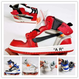 b6e132ecc81ba chaussures nouveau-né bébé garçon Promotion (avec boîte) Chaussures de basketball  pour enfants