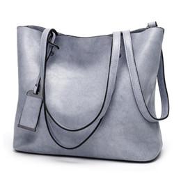 Luce per borsa online-borse della borsa del progettista borse a spalla colore solido per donne di cuoio molle dell'unità di elaborazione Totes casuali per borse tutto-fiammifero femminile dame di luce blu