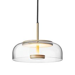 2019 lámparas de calor de cocina Candelabro de cristal led creativo nórdico moderno bar candelabro iluminación dormitorio lámparas restaurante candelabro