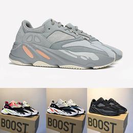 huge discount f957b ce86e 2019 Mauve 700 Runner Mens donna Designer Sneakers New 700 V2 Statico Best  Quality Kanye West scarpe sportive con scatola 5-13