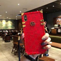 Canada 2019 dernière mode féminine imprimé bandoulière rayé iphone cas pour iphone 6 cas 7 8 plus Xs max téléphone 6 s cas livraison gratuite Offre