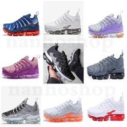 new arrivals 63880 887f6 2019 nuovi 16 colori vendita calda Nike Air Vapormax max 2018 TN PLUS  Running Gym shoes Sneakers sports tn uomo donna nero rosso bianco ragazzi e  ragazze ...