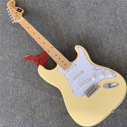 guitarras festoneadas Rebajas shippingCheap libre de la guitarra Ynwie Malmsten festoneado de arce diapasón principal grande de 6 cuerdas guitarra eléctrica en la acción