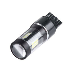 2019 voiture led lumières 12v renversant Universel de voiture 2pcs ensemble 12V 21W 900Lm 6500K LED ampoule T25 7440 7443 frein de voiture inverser la lumière clignotant voiture led lumières 12v renversant pas cher