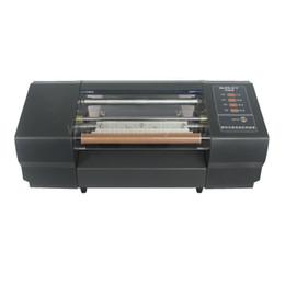 kommerzielle etikettendrucker Rabatt Nataly 330C Werbeartikel Automatischer Digital Gold Heißfolienprägung Drucker