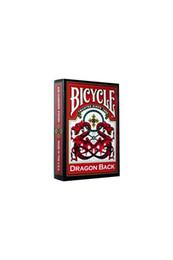 Pusula Oyun jogo de bússola bicicleta DRAGÃO VERMELHO de volta cartão de jogo Deck (Original papel de bicicleta Miniatures jogo) de