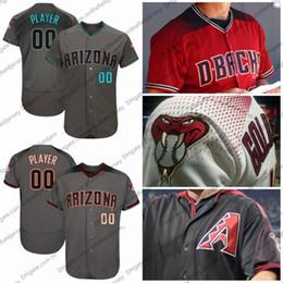 Número de beisebol on-line-Personalizado Arizona Baseball Jersey Diamondbacks qualquer número de nome Goldschmidt 21 Zack Greinke 38 Robbie Ray 52 Zack Godley 6 David Peralta S-4XL
