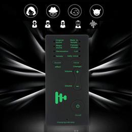 spia vocale Sconti 7 diversi dispositivi di cambio voce con microfono audio per regalo di compleanno per bambini / XBOX / PS4 / telefono / iPad / computer / laptop / tablet