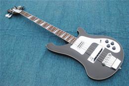 2019 cordas pretas de baixo branco Direto da fábrica novo padrão de qualidade herda o clássico preto 4 cordas baixo guitarra elétrica placa de guarda branca acessórios cromados fre desconto cordas pretas de baixo branco