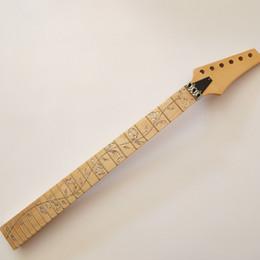 Canada Cou de guitare électrique, remplacement de pièces en érable fretté pour Ibanez style p3 cheap guitar neck part Offre