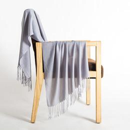 Canada 2019 nouveau châle femmes mode art sauvage écran solaire soie coton pure laine lin velours écharpe Offre